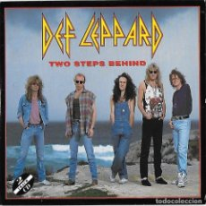 CDs de Musique: DEF LEPPARD: TWO STEPS BEHIND / TONIGHT. CD SINGLE. Lote 127449643