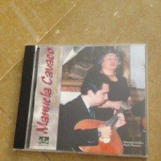 CDs de Música: MANUELA CAVACO - TEMAS NOTAVEIS DO FADO - PAULO PARREIRA (CD). Lote 127496632