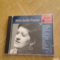 CDs de Música: MARIA AMÉLIA PROENÇA (FADOS DO FADO) CD. Lote 127497628