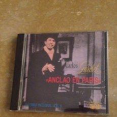 CDs de Musique: CARLOS GARDEL. SU OBRA INTEGRAL VOL. 6 (ANCLADO EN PARÍS) CD. Lote 127501127