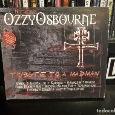 CDs de Música: HOMENAJE A OZZY OSBOURNE: TRIBUTE TO A MADMAN - CD+DVD. Lote 127502695