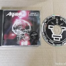 CDs de Música: ANTHRAX (CD) SOUND OF WHITE NOISE AÑO 1993 – EDICION LIMITADA ESPECIAL SKULL PRINT. Lote 127549747