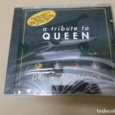 CDs de Música: DRAGON ATTACK (KISS, DOORS, DEEP PURPLE, WHITESNAKE…) (CD) A TRIBUTE TO QUEEN AÑO 1996 – PRECINTADO. Lote 127550051