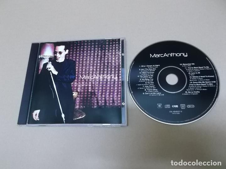 MARC ANTHONY (CD) MARC ANTHONY AÑO 1999 (Música - CD's Latina)