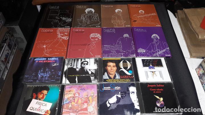 JOAQUIN SABINA GRAN LOTE LEER DESCRIPCION VER FOTOS (Música - CD's Rock)