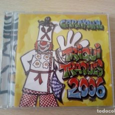 CDs de Música: CD MURGA TRIQUI TRAQUES 2006, CARNAVAL DE SANTA CRUZ DE TENERIFE. Lote 214198231