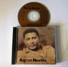 CDs de Música: AARON NEVILLE - WARM YOUR HEART - CD 13 TEMAS - AM 1991 USA 75021 5354 2- COMO NUEVO. Lote 127578535