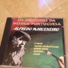 CDs de Música: ALFREDO MARCENEIRO. OS MELHORES DA MÚSICA PORTUGUESA (CD). Lote 127597423