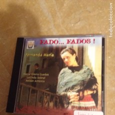 CDs de Música: FADO... FADOS! FERNANDA MARIA (CD). Lote 127597882
