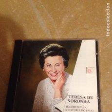CDs de Música: INÉDITOS PARA A HISTÓRIA DO FADO (MARIA TERESA DE NORONHA) CD. Lote 127598794