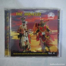 CDs de Música: THE MIRACLES VOL. 4 - SACRED MUSIC INSPIRED BY THE DEEP SPIRIT OF NATIVE AMERICANS - CD . Lote 127600963
