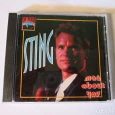 CDs de Música: STING / THE POLICE - MAD ABOUT YOU - 12 TEMAS - ON STAGE 1994 ECC ITALY CD 12078 SUPER RARE - N MINT. Lote 127629563