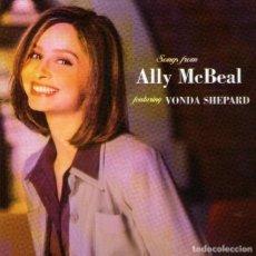 CDs de Música: VONDA SHEPARD - B.S.O. DE LA SERIE DE TV ALLY MCBEAL - CD ALBUM - 14 TRACKS - SONY MUSIC 1998. Lote 127630643