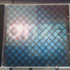 CDs de Música: ONZA ERROR DE SISTEMA ROCK PROGRESIVO ESPAÑOL CD 2017. Lote 127642159