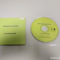 CDs de Música: 1018- ENRIQUE IGLESIAS IM YOUR MAN CD SINGLE PROMOCIONAL SPAIN AÑO 1999. Lote 127658475