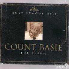 CDs de Música: COUNT BASIE - MOST FAMOUS HITS: COUNT BASIE THE ALBUM (2CD SET, SURPRISE 5032044065139). Lote 127664611