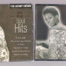 CDs de Música: VARIOS - SOUL HITS (2CD 2003 LUXURY EDITION, GALAXY 38984222). Lote 127665843