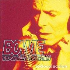CDs de Música: DAVID BOWIE THE SINGLES COLLECTION DOBLE CD CON LIBRETO - COMO NUEVO.. Lote 127676991