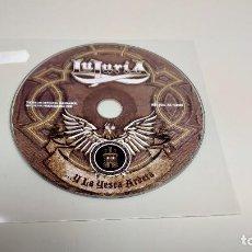 CDs de Música: 1018- LUJURIA Y LA YESCA ARDERA CD HEAVY METAL ARGENTINO AÑO 2006 12 TRACKS. Lote 127767715