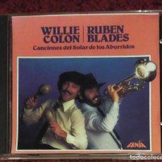 CDs de Música: WILLIE COLON & RUBEN BLADES (CANCIONES DEL SOLAR DE LOS ABURRIDOS) CD. Lote 127775367