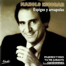 CDs de Música: MANOLO ESCOBAR * CD * ESPIGAS Y AMAPOLAS * PRECINTADO. Lote 127799831