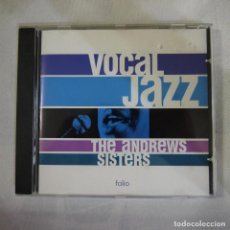 CDs de Música: VOCAL JAZZ. THE ANDREW SISTERS - CD 2001 . Lote 127841119