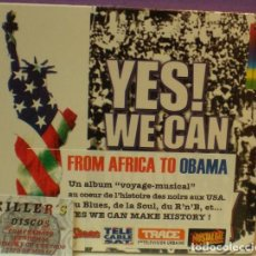 CDs de Música: YES WE CAN MAKE HISTORY / FROM AFRICA TO OBAMA - CD DIGIPACK PRECINTADO. Lote 127868359