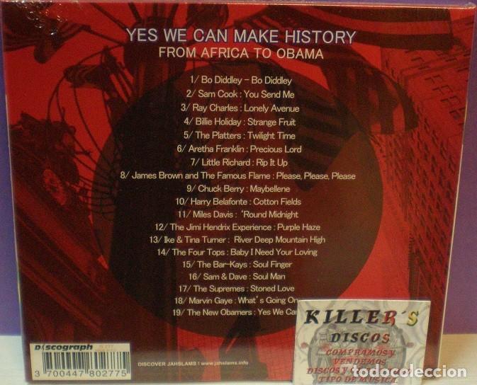 CDs de Música: Yes We Can Make History / From Africa to Obama - CD Digipack Precintado - Foto 2 - 127868359