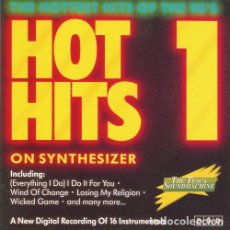 CDs de Música: HOT HITS ON SYNTHESIZER VOLUME 1. Lote 127891031