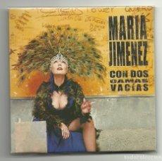 CDs de Música: MARIA JIMENEZ. CON DOS CAMAS VACIAS + CONTENIDO ADICIONAL EN LA CONTRAPORTADA ( CD SINGLE 2002). Lote 127903755