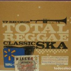 CDs de Música: VP RECORDS / TOTAL REGGAE: CLASSIC SKA - CD DIGIPACK PRECINTADO . Lote 127945727