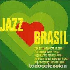 CDs de Música: VARIOUS - JAZZ BRASIL (CD, COMP) LABEL:VERVE RECORDS CAT#: 555 925-2 . Lote 127953311