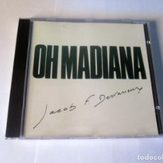 CDs de Música: JACOB F. DESVARIEUX / KASSAV' - OH MADIANA - CD - G.D.PRODUCTIONS 1985 FRANCE GDC 1205 EXCELENTE. Lote 127969083