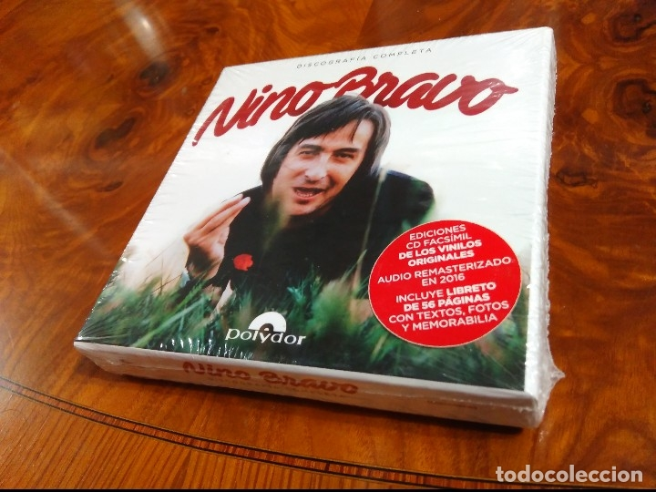 Nino Bravo Discografía Completa Precintada 5 Cd Sold Through Direct Sale 127960210