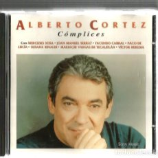 CDs de Música - CD ALBERTO CORTEZ : COMPLICES ( COLABORAN SERRAT, MERCEDES SOSA, FACUNDO CABRAL, PACO DE LUCIA, ETC - 127972771