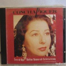CDs de Música: CONCHA PIQUER - MAÑANA SALE - CD - 1992 - ARIOLA - NM+/EX+. Lote 128002103