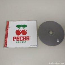 CDs de Música: 1018- PACHA IBIZA CD PROMOCIONAL DANCE SUMMER 1999 SPAIN. Lote 128014427