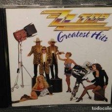 CDs de Música: ZZ TOP GREATEST HITS CD. Lote 128032779