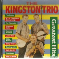 CDs de Música: CD THE KINGSTON TRIO: GREATEST HITS . Lote 128042271