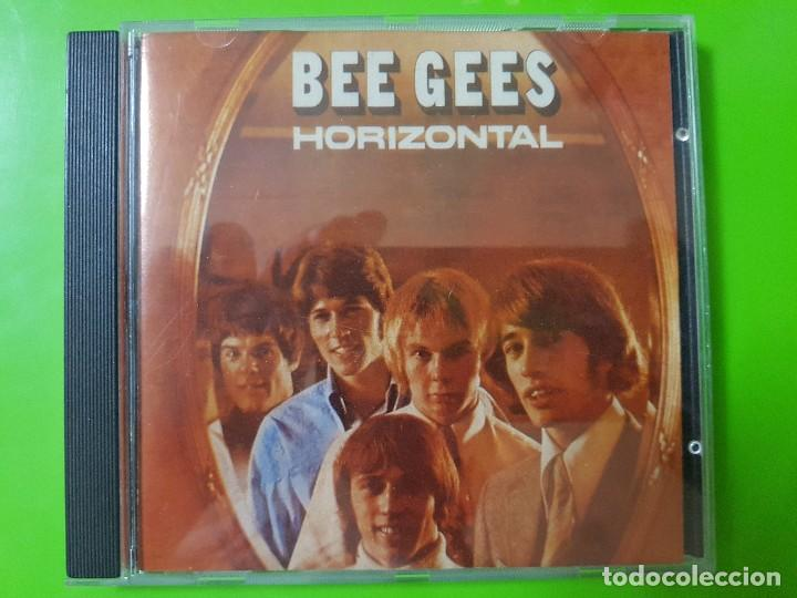 BEE GEES CON SU MÍTICO ÁLBUM HORIZONTAL DEL AÑO 1968 (Música - CD's Pop)