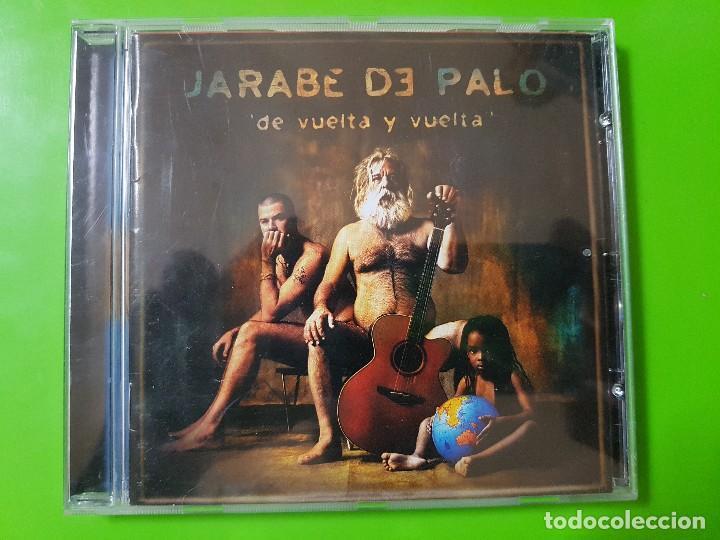 JARABE DE PALO CON SU GRAN ÁLBUM DE VUELTA Y VUELTA DEL AÑO 2001 (Música - CD's Pop)