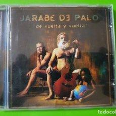 CDs de Música: JARABE DE PALO CON SU GRAN ÁLBUM DE VUELTA Y VUELTA DEL AÑO 2001. Lote 128062703