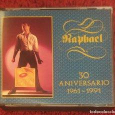 CDs de Música: RAPHAEL (30 ANIVERSARIO 1961-1991) 2 CD'S 1991 EDICIÓN MEXICANA CAPITOL EMI LATIN. Lote 128079267