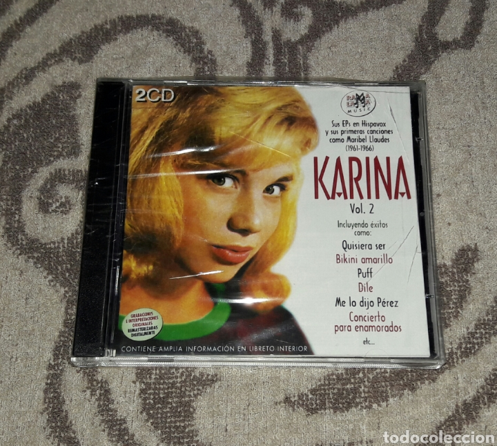 KARINA VOL.2 (Música - CD's World Music)