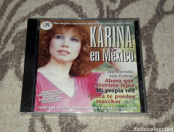 KARINA, EN MEXICO (Música - CD's World Music)