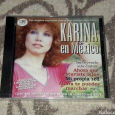 CDs de Música: KARINA, EN MEXICO. Lote 176186010