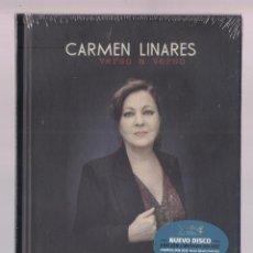 CDs de Música: CARMEN LINARES CANTA A MIGUEL HERNÁNDEZ - VERSO A VERSO (DISCOLIBRO CD 2016, SAL 03) PRECINT.. Lote 128080415
