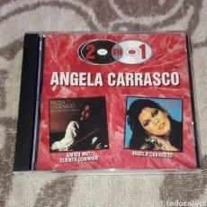 CDs de Música: ANGELA CARRASCO, CAMILO SESTO, 2 EN 1. Lote 128080810