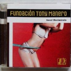 CDs de Música: FUNDACIÓN TONY MANERO. SWEET MOVIMIENTO. CD VIRGIN 5421552. ESPAÑA 2002. FUNK. DISCO.. Lote 128092187