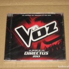 CDs de Música: (SIN ABRIR) LA VOZ - LO MEJOR DE LOS DIRECTOS 2013. Lote 128114995